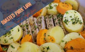 roast pork loin with brown sugar and