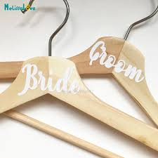 10 Titles Bride Groom Wedding Hangers Sets Party Sticker Decal Removable Vinyl Stickers Ba381 Wall Stickers Aliexpress