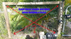 Avoid These Common Welded Wire Fencing Mistakes Bracing And Gate Hinges Moneyrhythm Permaculture Diy Goats Chickens And More