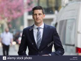 Dan Johnson, BBC Reporter, arrives at the High Court in the case with Cliff  Richard who is suing them for invasion of his privacy after a home raid  Stock Photo - Alamy