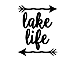 Lake Life Decal Car Decal Yeti Cup Decal Water Bottle Etsy