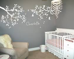 Personalized Name Large Tree Branches Wall Stickers Flying Birds White Tree Wall Decal Baby Nursery Wall Tattoo Mural Jw211a White Tree Wall Decal Tree Wall Decalbranch Wall Stickers Aliexpress