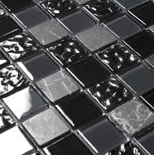 stone marble mosaic tile crystal glass