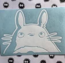 My Neighbor Totoro Inspired Vinyl Decal For Car Laptop Etsy