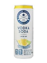 cote springs lemon lime vodka soda