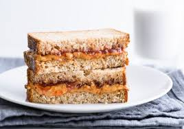 healthier peanut er and jelly sandwich