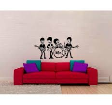 Red Barrel Studio The Beatles Wall Decal Wayfair