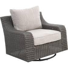 woven swivel patio chair lemans rc