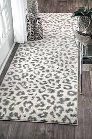 animal leopard print area rug