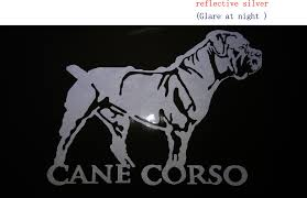 2020 Cane Corso Cane Da Corso Cane Corso Italian Dog Cat Vinyl Decal Lg Truck Dog Car Decal Vinyl Sticker From Mysticker 7 04