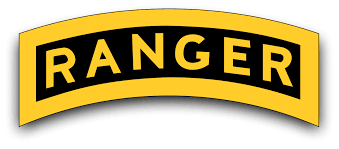 Ranger Tab Vinyl Transfer Decal