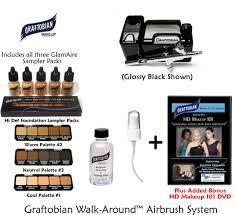 graftobian walk around glamaire beauty