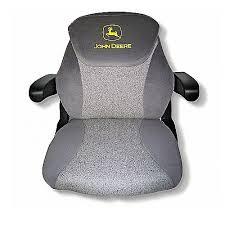 john deere brown leather seat cushion