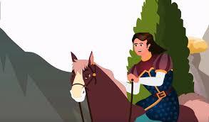 Con ngựa gỗ nhỏ
