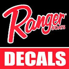 Ranger Boat Decals Stickers