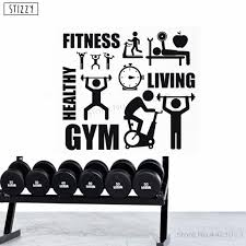 Stizzy Wall Decal Sport Motivation Symbol Vinyl Wall Stickers Fitness Gym Window Waterproof Decor Removable Man Club Decals B595 Buy At The Price Of 6 70 In Aliexpress Com Imall Com