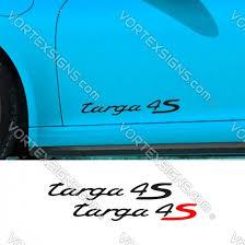 Sale Porsche Targa 4s Decals Stickers Online 10 Off