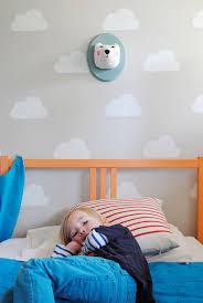 Cloud Kid S Room With Handmade Charlotte Stencils Handmade Charlotte