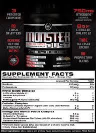 anabolic science labs monster dust pre