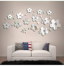 Removable Mouth Lip Shaped Mirror Diy Wall Sticker Decal Paper Home Decor Newly