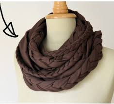 make infinity scarves easy craft ideas