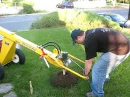 Hydraulic Fence Post Digger Youtube
