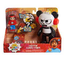 world choppin combo panda action fig