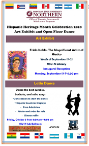 Hispanic Heritage Month Dance 10/05 ...