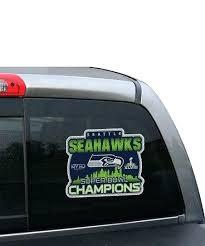 Seahawk Window Decals Main Film Seattle Seahawks Car Products Sutanrajaamurang