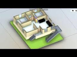 30x40 east face simplex house plan 2
