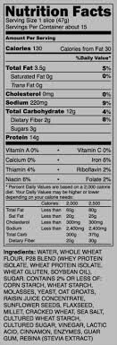 p28 high protein bread protein in