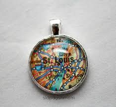 glass pendant necklace tutorial