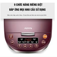 Nồi cơm điện cơm ngon như nấu bếp củi 1.8L, Joyoung lòng niêu, công suất  860W, Hàng chính hãng - Nồi cơm điện tử