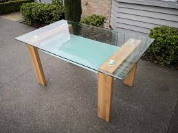 dining table 12mm tempered glass