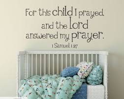 1 Samuel 1 27 Wall Decal Etsy