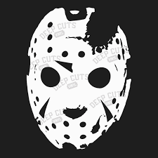 Friday The 13th Mask Vinyl Sticker Sold By Deep Cuts Vinyl Stickers On Storenvy