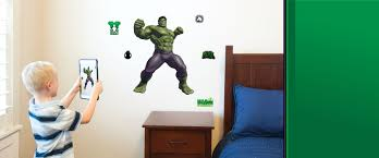 Hulk Wall Decals Augmented Reality Wall Stickers Wall Palz
