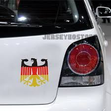 Germany German Flag Coat Of Arms Eagle Car Decal Bumper Sticker For Vw Benz Audi Car Car Decals Motorcycle Decals