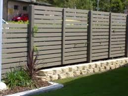 All Day Fencing Horizontal Slat Screens Gates And Fences Fence Backyard Fences Fence Design