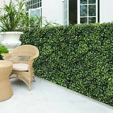 Shop 12 Pcs 20 X 20 Artificial Plant Wall Panel Hedge Privacy Fence Overstock 30751404