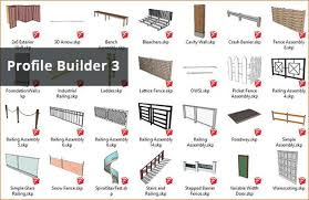 Profile Builder 3 Is A Useful Sketchup Extension That Can Be Applied To Produce Smart Buildings Automatically With Skin Col Smart Building Builder Cavity Wall