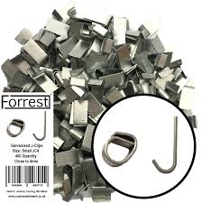 J Clips Wire Mesh Clips Aviary Clips Mesh Jointing Clips 400qty Amazon Co Uk Pet Supplies