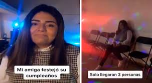 Tik Tok Viral Chica Organiza Fiesta De Cumpleanos Pero Solo Van