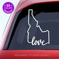 Amazon Com Idaho State Love Decal Id Love Car Vinyl Sticker Add A Heart Over Boise Meridian Nampa Coeur D Alene Idaho Falls Handmade