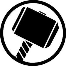 Thor Mjolnir Hammer Rock Band Marvel Avengers Car Window Laptop Decal Sticker Ebay