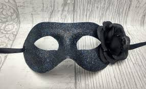 black masquerade mask masked ball masks