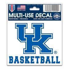 Wincraft Kentucky Wildcats 3 X 4 Basketball Car Decal