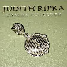 judith ripka jewelry initial j