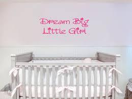 Dream Big Little Girl Wall Decal Michigan Decals Michigan Apparel Michigan Clothing