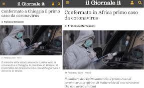 La fake news sul coronavirus che fa male all'informazione ...